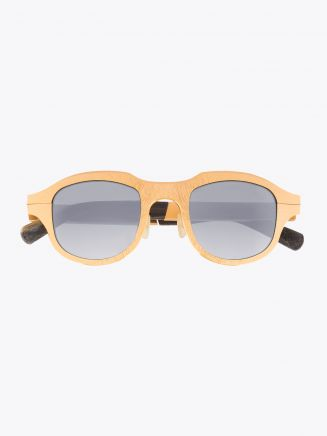 Rigards Metalloid 62 Sunglasses Gold Sanjuro Front