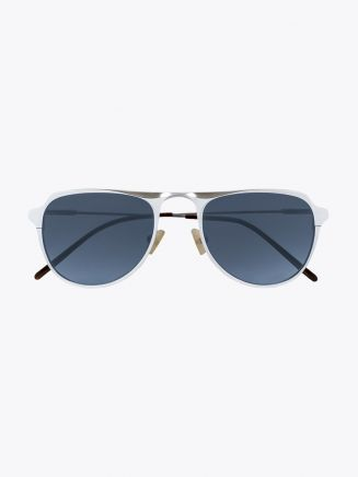 Rigards Metalloid 55 Sunglasses Chrome Matte Front