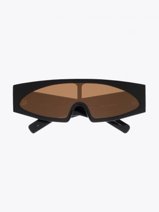 Rick Owens Gene Sunglasses Black / Orange 1