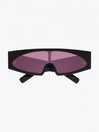 Rick Owens Gene Sunglasses Black / Rose 1