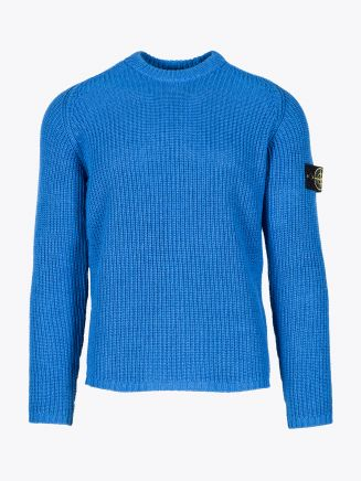 Stone Island 563A5 Crewneck Knit Periwinkle 1