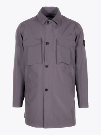 Stone Island 70720 Gore-Tex Packable Raincoat Blue Grey 1