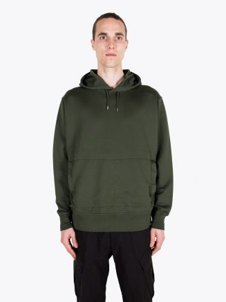 Stone Island Shadow Project 60207 Supima Felpa Hooded Sweatshirt Bottle Green 1