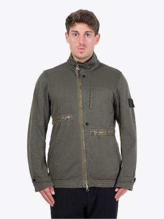 Stone Island Shadow Project 41001 Tilt Storage Jacket Military Green Front