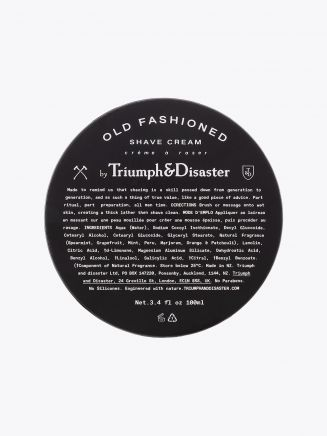 Old Fashioned Shave Cream Tube 100ml - Triumph & Disaster front view