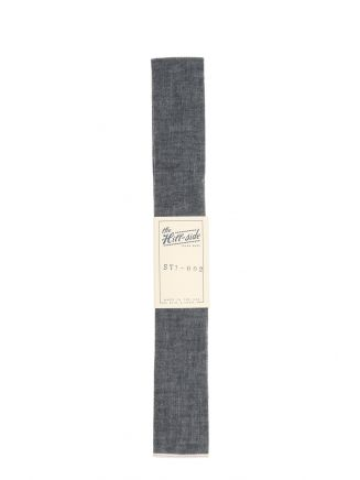 The Hill-Side Necktie Selvedge Chambray Black