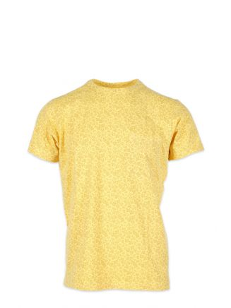 Universal Works Pocket Tee in Floral Jersey Sun