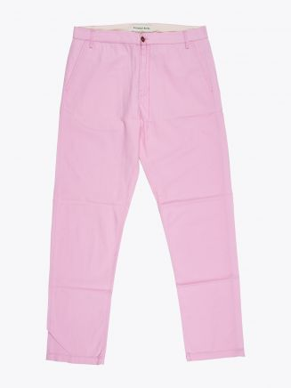 Universal Works Aston Pant in Summer Twill Pink