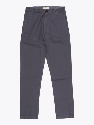 Universal Works Aston Pant Canvas Grey 1