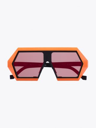 Vava Red Label 0000 Sunglasses Black / Orange