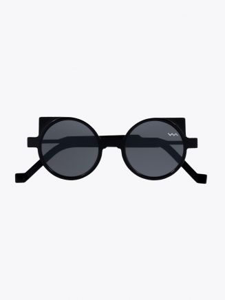 Vava White Label 0012 Sunglasses Black 1