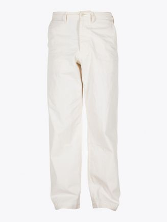 A Vontade Type 45 Chino Cotton Trousers Natural 1