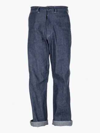 A Vontade Mil Denim Trousers Indigo 1