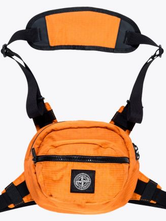 Stone Island 90766 Reflective Bumbag Orange