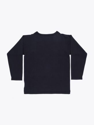 Andersen-Andersen Cotton Shirt Boatsman Navy Blue