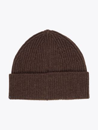 Andersen-Andersen Wool Classic Beanie Natural Brown