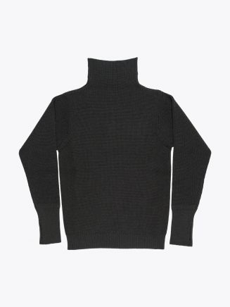 Andersen-Andersen Wool Turtle Neck Sailor Sweater Hunting Green