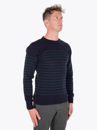Armor-Lux Fisherman Jumper Heritage Rich Navy/Tige