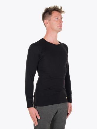 Armor-Lux Long Sleeved T-shirt Heritage Black