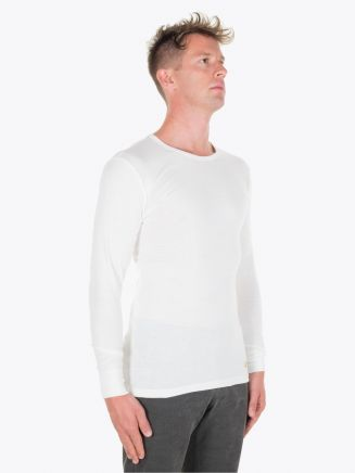 Armor-Lux Long Sleeved T-shirt Heritage Off White