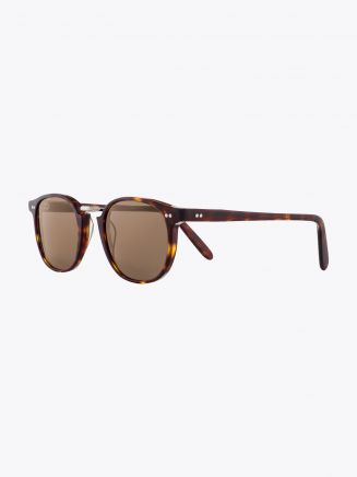 Cutler and Gross 1007 Sunglasses Dark Turtle