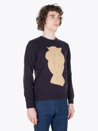 Carven Pull Vallauris Knit Pullover Marine