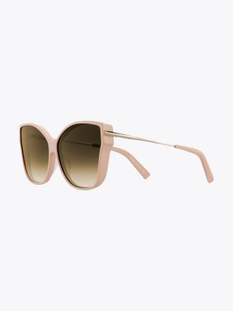 Christian Roth Tripale Sunglasses Matte Pink - Gold