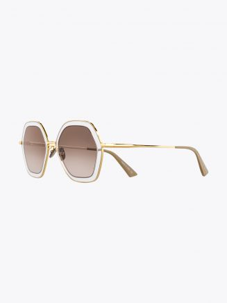 Christian Roth Rizzei ­Sunglasses Yellow Gold