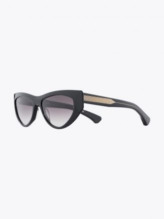 Christian Roth CR-703 Sunglasses Black / Clear Black