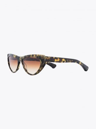 Christian Roth CR-703 Sunglasses Black Yellow Tortoise