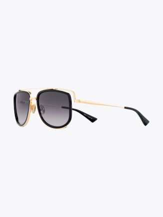 Christian Roth CR-100 Sunglasses Black / Gold