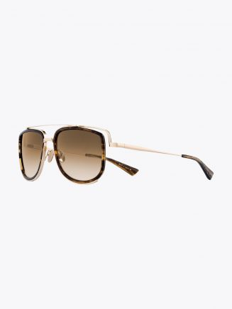 Christian Roth CR-100 Sunglasses Brown Smoke