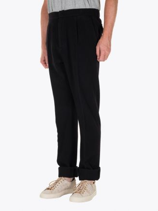 GBS trousers Carlo Wool and Polyester Black