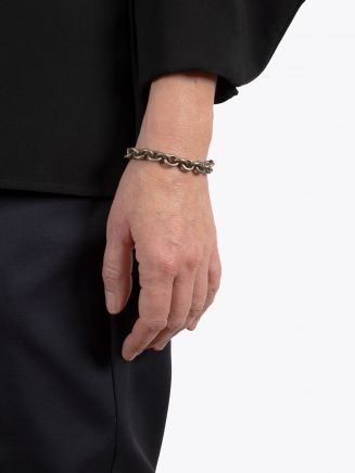 Goti Cable Chains Bracelet Silver