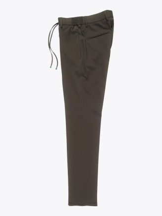 Giab's Archivio Masaccio Viscose Drawstring Pants Military Green