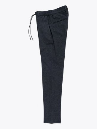 Giab's Archivio Masaccio Viscose Drawstring Pants Anthracite