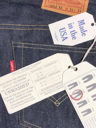 Levi's Vintage Clothing 1954 501 Jeans Rigid