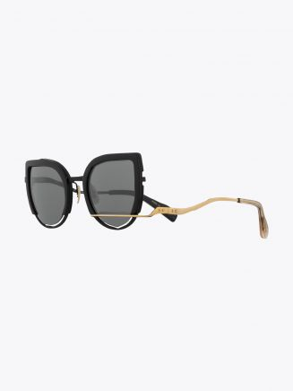 Masahiromaruyama Erase MM-0032 No.1 Sunglasses Black / Gold