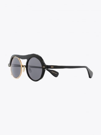 Masahiromaruyama Monocle MM-0051 No.1 Sunglasses Black / Gold