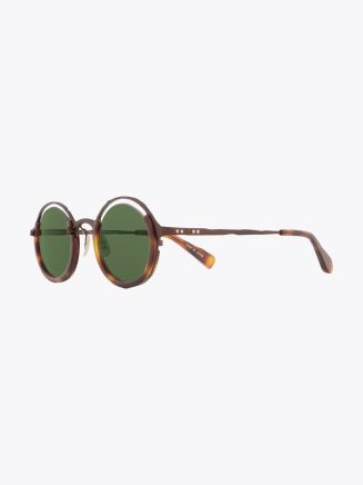Masahiromaruyama Monocle MM-0053 No.2 Sunglasses Havana / Brown
