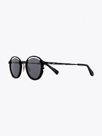 Masahiromaruyama Monocle MM-0055 No.1 Sunglasses Black / Black