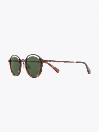 Masahiromaruyama Monocle MM-0055 No.2 Sunglasses Havana / Brown