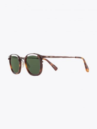 Masahiromaruyama Monocle MM-0057 No.2 Sunglasses Havana / Brown