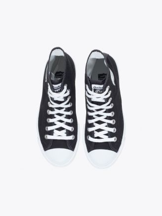Onitsuka Tiger Tiger Scoop Canvas Sneakers Black/White