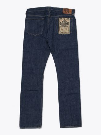 Double RL Slim-Fit Once-Washed Denim