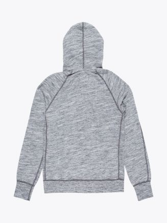 Reigning Champ Full Zip Hoodie Sweatshirt Alpine Black