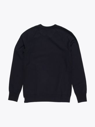 Reigning Champ Loopback Cotton Jersey Sweatshirt Black