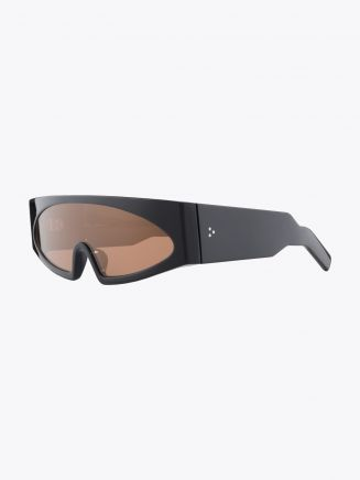 Rick Owens Gene Sunglasses Black / Orange