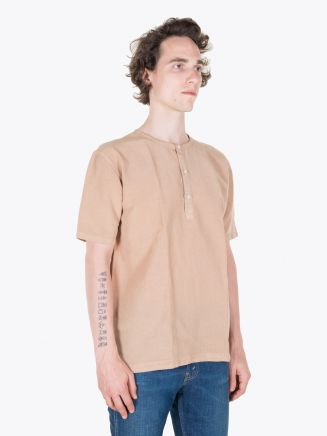 Salvatore Piccolo Henley T-Shirt Brown