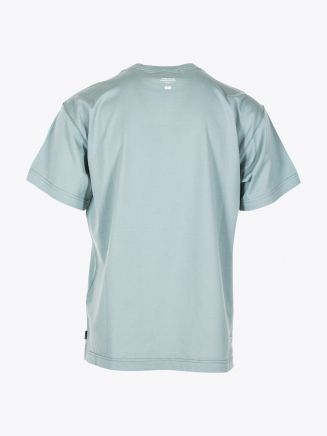 Stone Island Shadow Project 20510 Jersey Mako Printed Short Sleeve T-shirt Sage Green